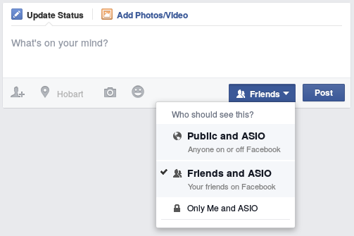 Sharing your content with ASIO